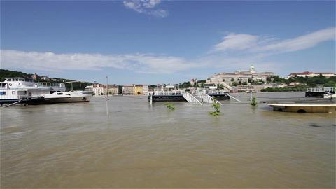 2013 Flood Budapest Hungary 12 Footage