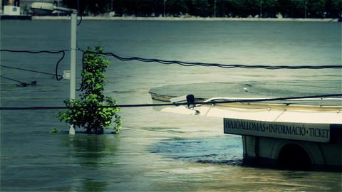 2013 Flood Budapest Hungary 36 stylized Footage