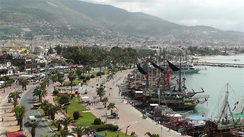 Alanya Turkey 1 Stock Video Footage