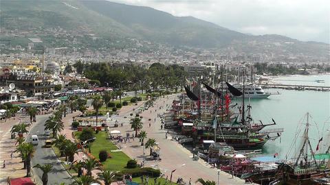 Alanya Turkey 1 Stock Video Footage