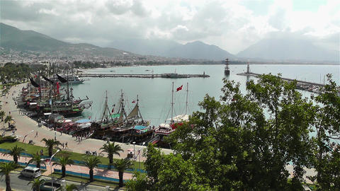 Alanya Turkey 3 Stock Video Footage