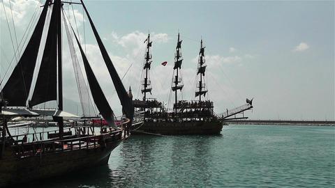 Alanya Turkey 19 port Footage