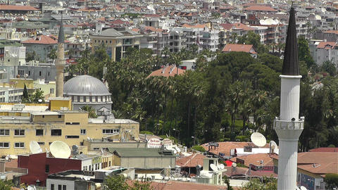 Alanya Turkey 61 muezzin Footage