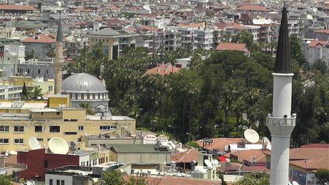 Alanya Turkey 61 muezzin Stock Video Footage