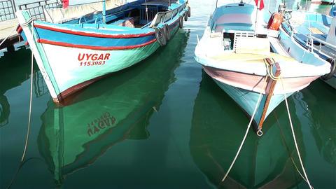 Alanya Turkey 93 port Stock Video Footage