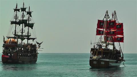 Alanya Turkey 104 ships Footage