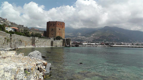 Alanya Turkey 126 Stock Video Footage