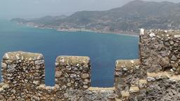 Castle of Alanya Turkey 4 Stock Video Footage