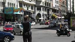 Gran Via Madrid Spain 2 Stock Video Footage