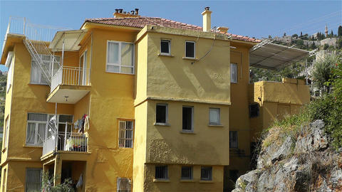 House in Turkey 2 Stock Video Footage
