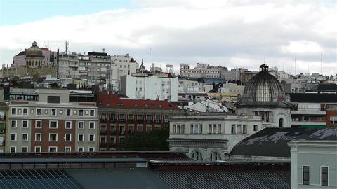 Madrid Spain Northern Station Principe Pio 1 Stock Video Footage