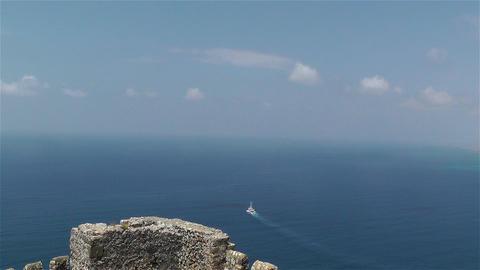 Mediterranean Sea 2 Stock Video Footage