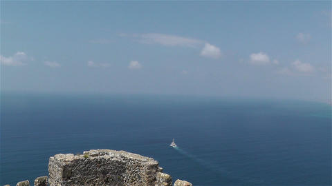 Mediterranean Sea 2 Stock Video Footage