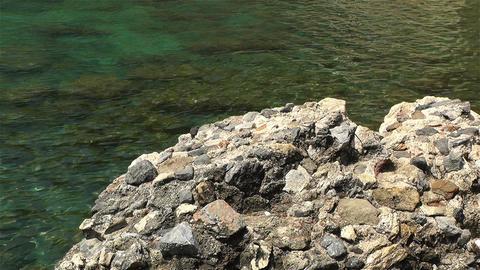 Mediterranean Sea Coast 1 Stock Video Footage