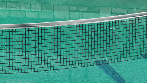 Pool and Net Stock Video Footage