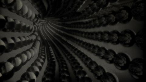 Tunnel Flythrough v 2 16 vintage Stock Video Footage