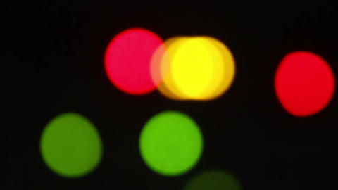 Blurred Lights Shine 2 Stock Video Footage