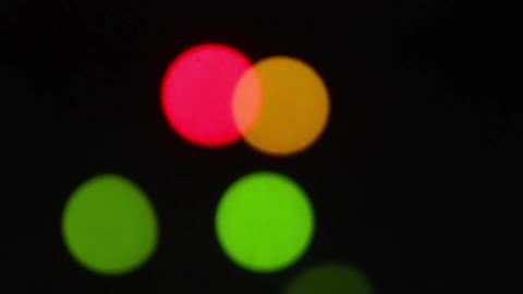 Blurred Lights Shine 2 Footage