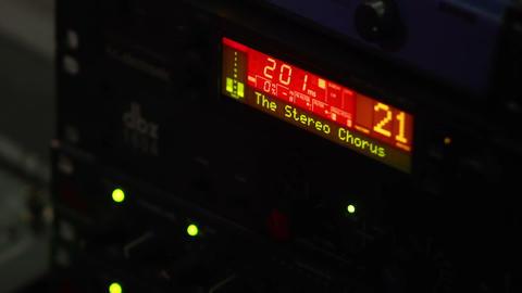 Sound Recording Equipment 2 Stock Video Footage