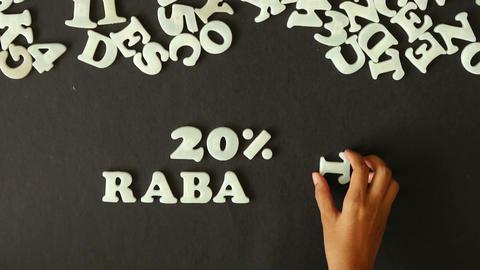 20 percent Discount (In German) Footage