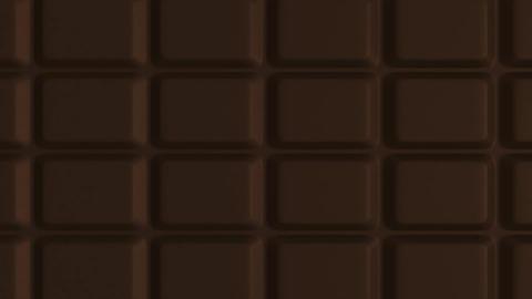 3D Bathroom Scale - Chocolate Stock Video Footage