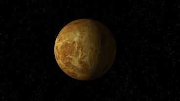 Venus No Atmosphere Rotating Seamless Loop Stock Video Footage