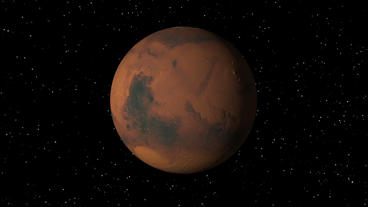 Mars Rotating Seamless Loop Animation