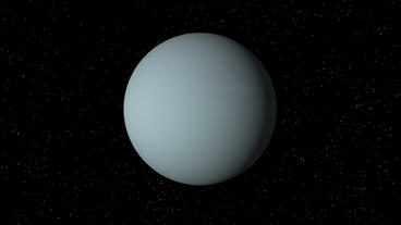 Uranus Rotating Seamless Loop Stock Video Footage