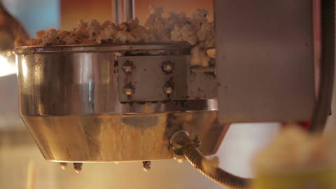 Popcorn making 3 Stock Video Footage