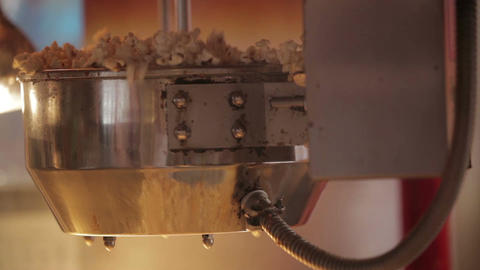 Popcorn making 3 Footage