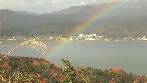 Amano hashidate2 in Kyoto 天橋立 Stock Video Footage