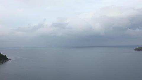 Sea landscape Stock Video Footage
