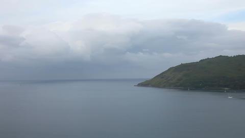 Sea landscape Footage