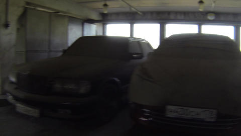 parking Stock Video Footage