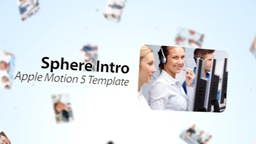 Sphere Introduction - Apple Motion and Final Cut Pro X Template Apple-Motion-Projekt