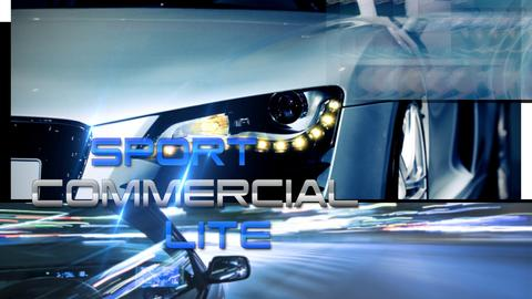 Sport Commercial Lite - Apple Motion and Final Cut Pro X Template Apple Motion Template