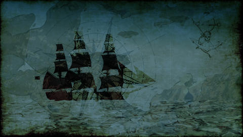 Pirate 2 HD stock footage