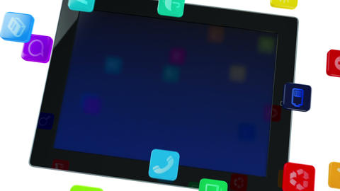 Tablet computer Animation