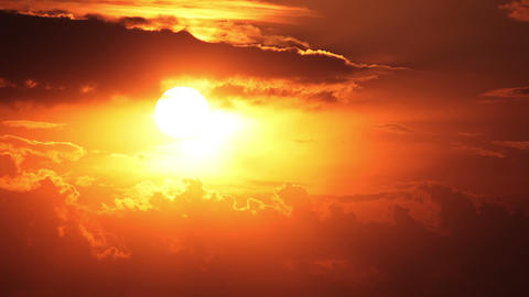 Clouds and sun. Timelapse Stock Video Footage