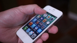 iPhone 4S Stock Video Footage