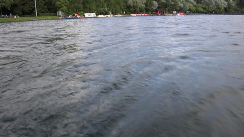 boat wake Footage
