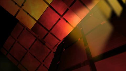 grid lights room Stock Video Footage