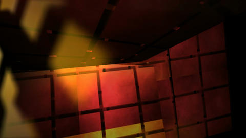 grid lights room Animation