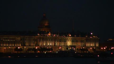 The Hermitage in St. Petersburg Stock Video Footage