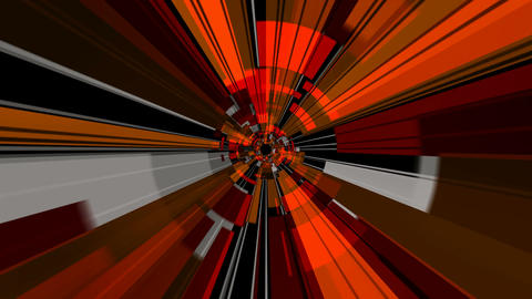 digital radial ray Animation
