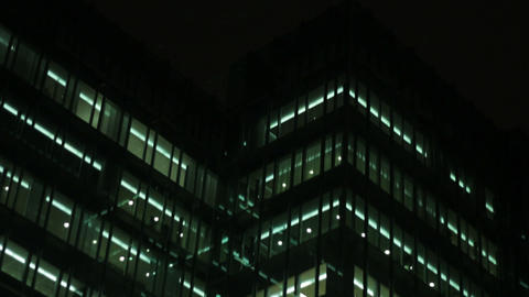 Office building Stock Video Footage