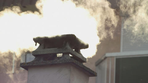 Chimney Stock Video Footage