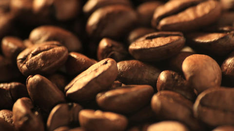 Coffee Beans - DOLLY stock footage