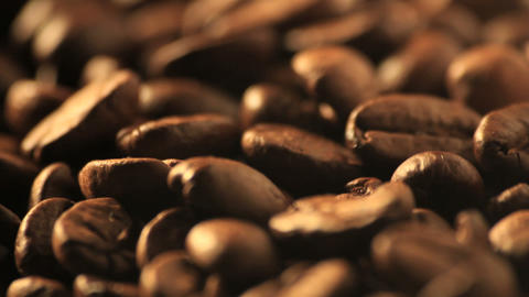 Coffee beans - DOLLY Stock Video Footage