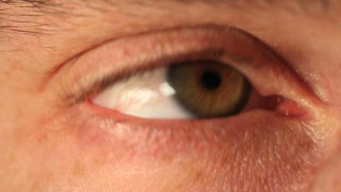 Green eye Stock Video Footage